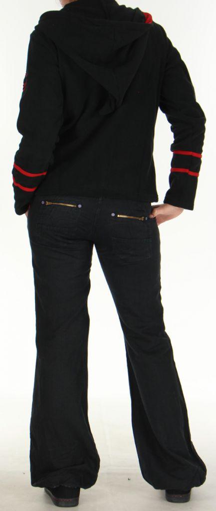 Veste Colorée et Chaude en polaire pour Femme Selen Noire 276289