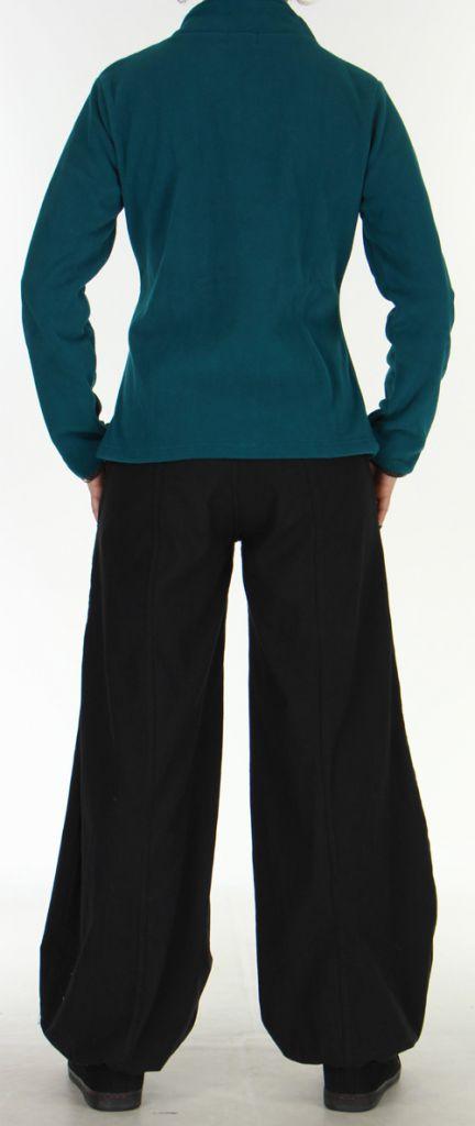 Veste Colorée et Chaude pour Femme en polaire Ohana Emeraude 275977