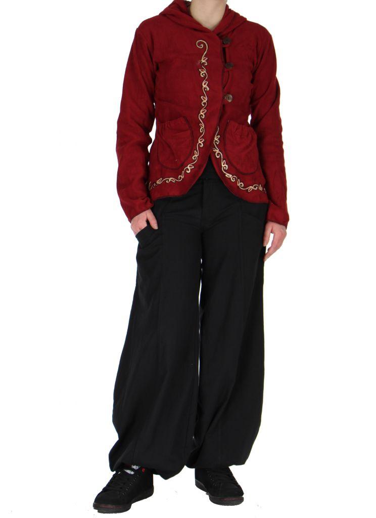 veste en polaire femme mode rouge liky. Black Bedroom Furniture Sets. Home Design Ideas