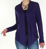 Veste fluide pour Femme Originale et Asymétrique Leila Violet 278536