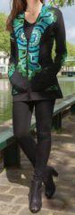 Veste mi-longue � capuche Originale et Ethnique Bayan 274298