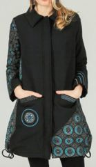 Veste pour Femme Ethnique et Originale Cassandra Noire 277965