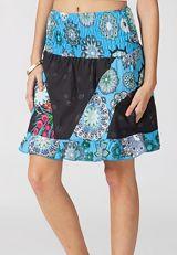 Acheter jupe pas cher été fleurs ethnique imprimé originale Clayve 315170