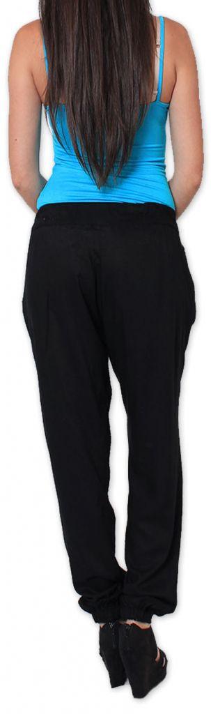 Agréable pantalon femme fluide et léger Noir Bety 273284