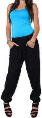 Agréable pantalon femme fluide et léger Noir Bety 273287