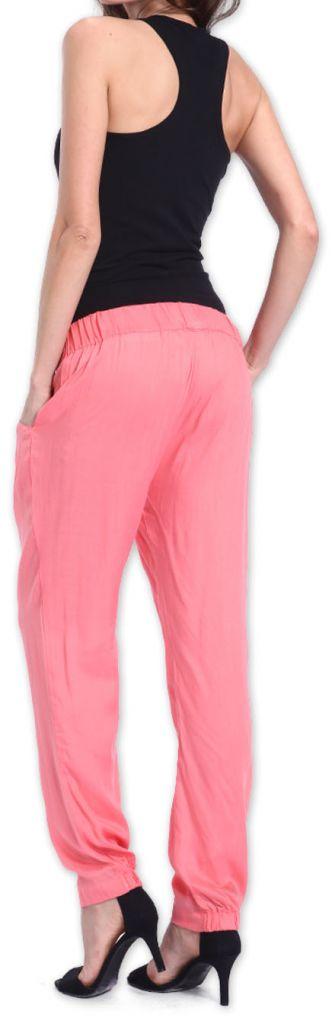 Agréable pantalon femme fluide et léger Rose Bety 273276