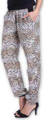 Agréable pantalon femme fluide imprimé Zèbre Lexi 1 273551