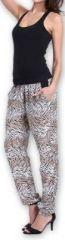 Agréable pantalon femme fluide imprimé Zèbre Lexi 1 273553