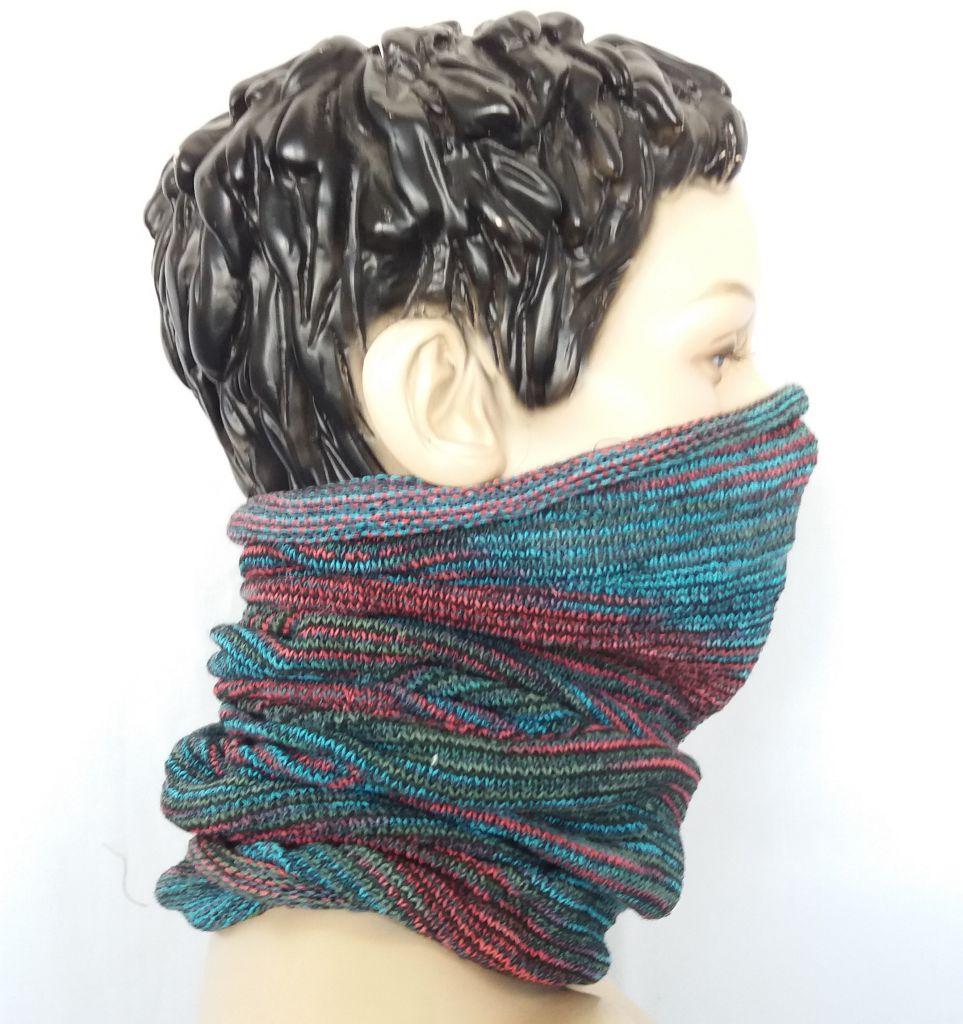 Bandeau cheveux transformable en tour de cou 2en1 303323
