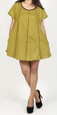 Belle tunique d'été originale pour femme - Verte - Celina 272031