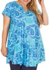 Blouse tunique femme grande taille look bohème Alissia 306363