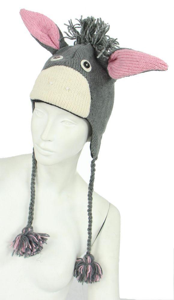 Bonnet âne en laine doublé polaire 248062