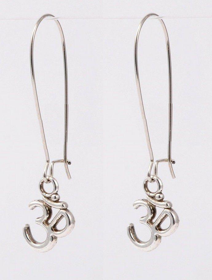 Boucles d'oreilles créoles OHM argenté 304322