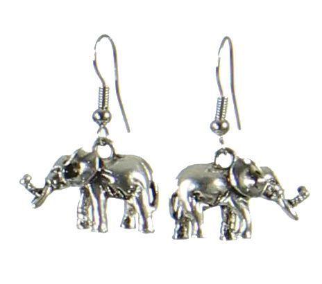 Boucles d'oreilles éléphant 247619