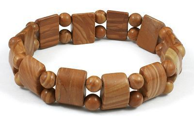 Bracelet burnin en pierre originales marron Lauretta 247068