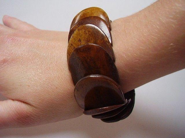 Bracelet écaille marron 241926