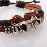 Bracelet en cuir et cordon ciré fabbrix 256465