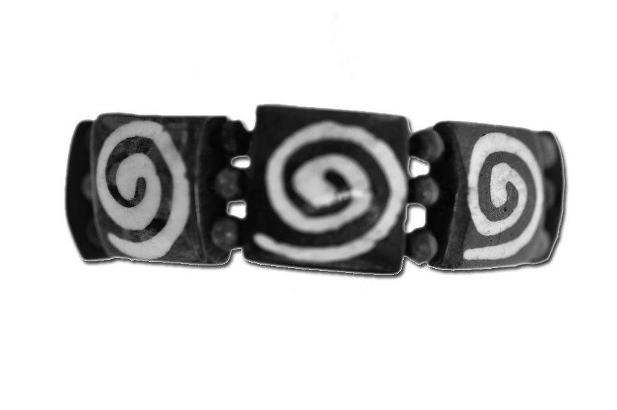 bracelet en os logo ethnique 237238