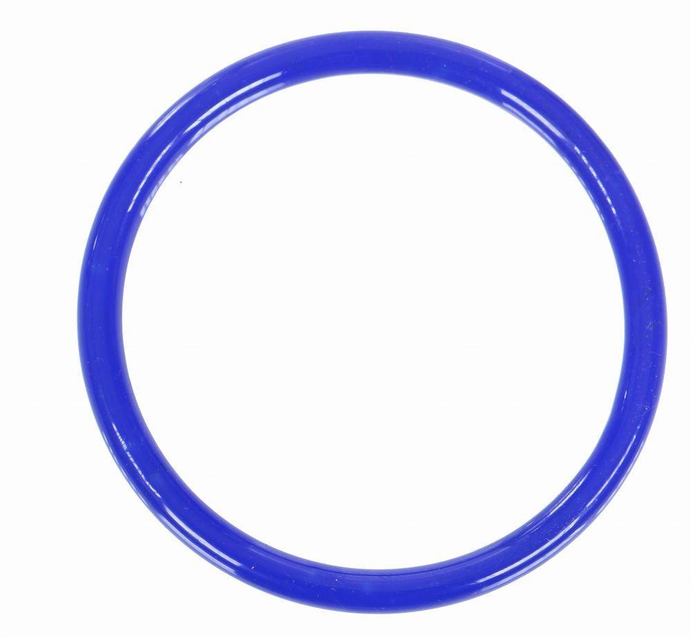 Bracelet original en verre gruy bleu foncé 249325