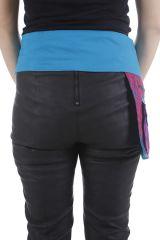 Ceinture pour femme multi-poches réglable et ethnique Zya 310452
