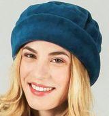 Chapeau d'hiver/bonnet ethnique et chic Bleu Silas 273218