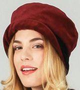 Chapeau d'hiver/bonnet ethnique et chic Rouge Silas 273216