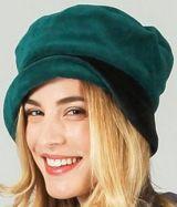 Chapeau d'hiver/bonnet ethnique et chic Vert Silas 273219