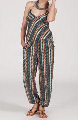 Charmante combinaison ethnique et originale Multicolore Inaya 314922