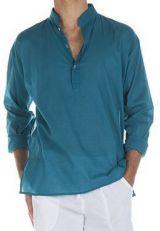 Chemise en coton pour homme avec col à boutons Josh 295825