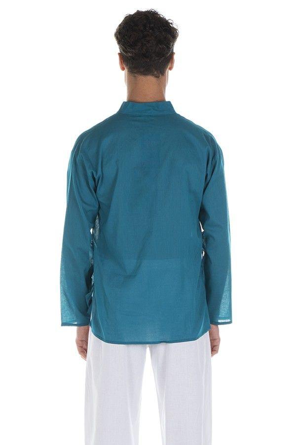 Chemise en coton pour homme avec col à boutons Josh 295826