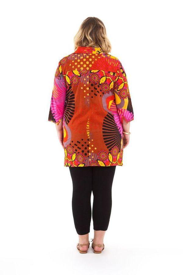 Chemise femme grande taille d'été Ehona 281677