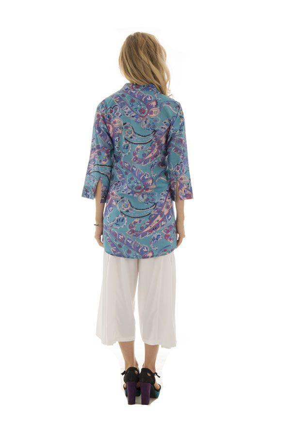 Chemise femme originale en voile de coton Alexandra 288430