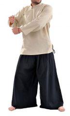 Chemise homme grante taille et pas chère chanvre Miang 303232