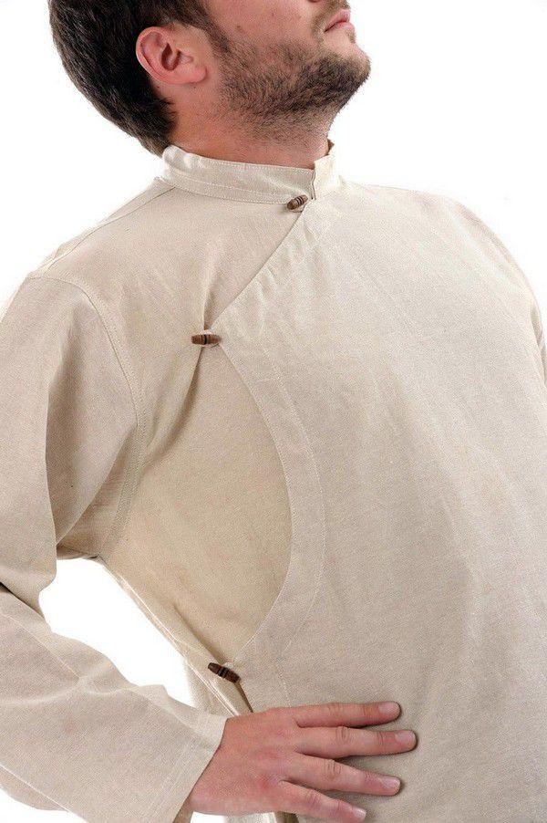 Chemise homme grante taille et pas chère chanvre Miang 303234