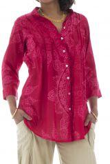 Chemise rose pour femme ioana 291386