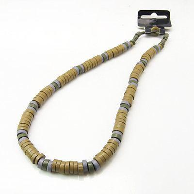 Collier original avec des perles en céramique ziling 247060