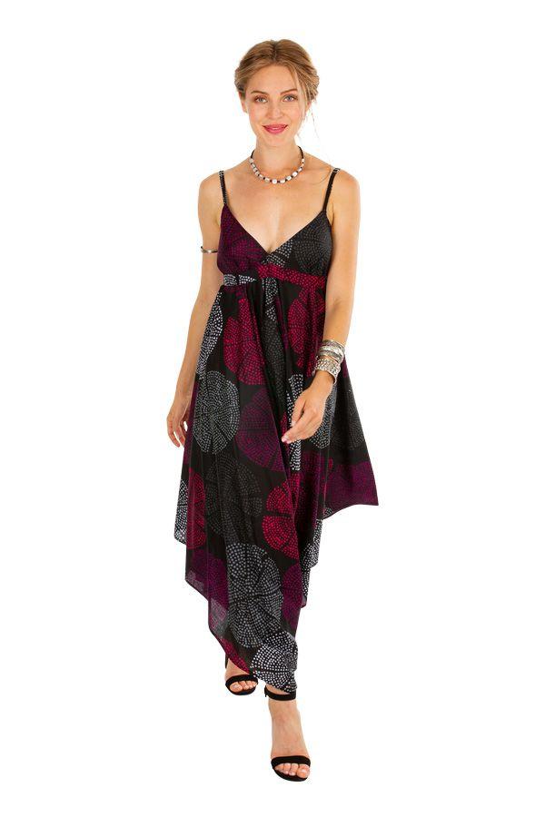 Combi-pantalon femme en voile de coton léger pour l'été Kaly 306565