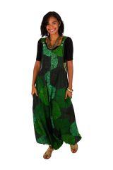 Combi-sarouel femme en voile de coton léger pour l'été Melyssa 306554