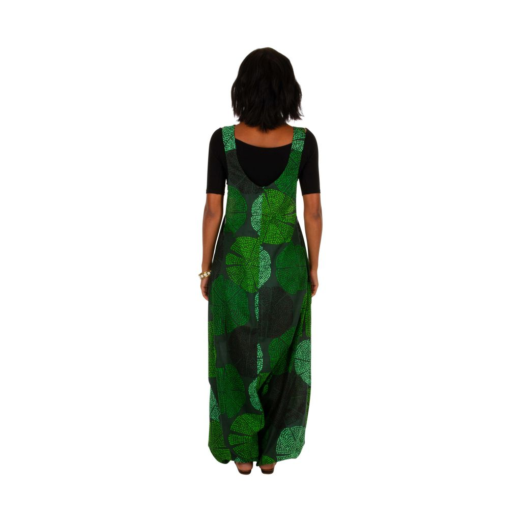 Combi-sarouel femme en voile de coton léger pour l'été Melyssa 306555