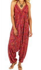 Combi-sarouel original pour un look chic-ethnique à la mode Aurélie