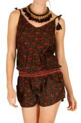 Combi-short avec un imprimé bohème très tendance pour femme Kali 305695