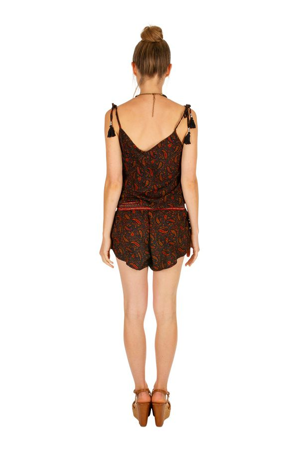 Combi-short avec un imprimé bohème très tendance pour femme Kali 305697