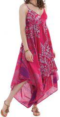 Combinaison à fines bretelles Ethnique et Colorée Shiva Rose 280695