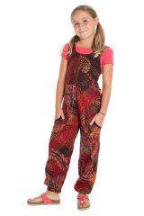 Combinaison-pantalon à bretelles avec imprimé fantaisie Anya 294027
