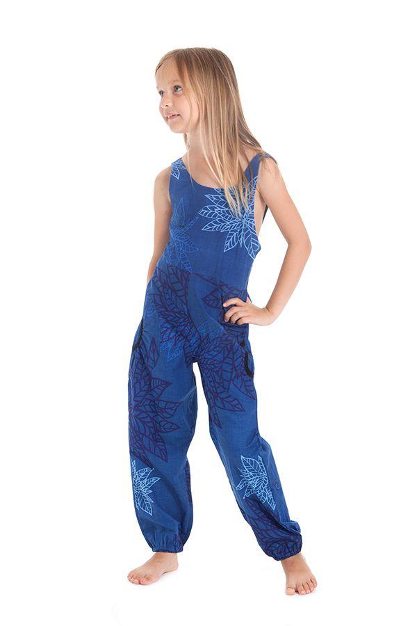 Combinaison Pantalon Bleue pour Fillette Originale et Colorée Arlo 279813