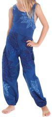 Combinaison Pantalon Bleue pour Fillette Originale et Colorée Arlo 279814
