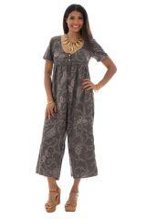 Combinaison pantalon coupe 3/4 ample avec col rond Nérissa 289076