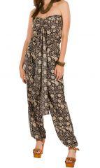 Combinaison-pantalon élégante pourvue d'un smocks au dos Flora 293052