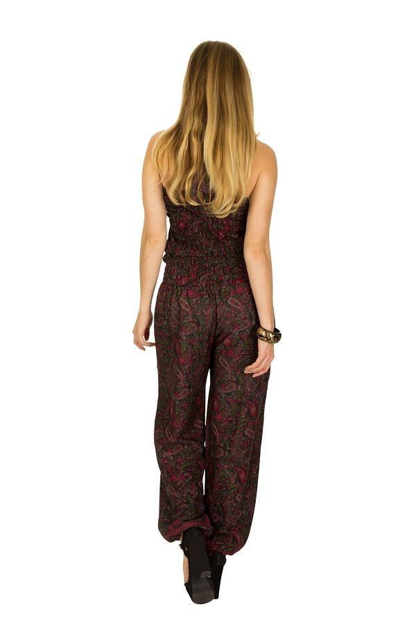 Combinaison-pantalon fluide coupe bouffante et imprimés Jericho 321845