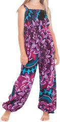 Combinaison pantalon Imprimée et Ethnique pour Fille Akela Rose 279833